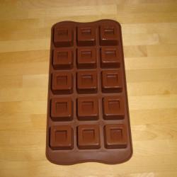 Chokoladeforme, kube.