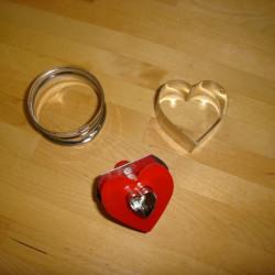 Udstikkerform - hjerte