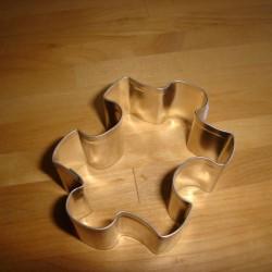 Udstikkerform - 6 cm pusselsspilfacon