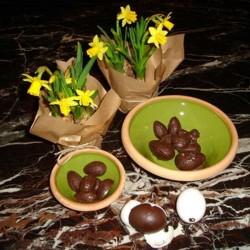 Påskeæg, chokoladeform