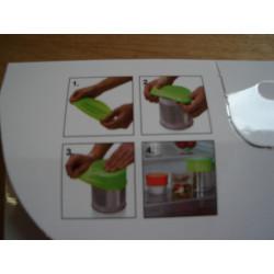 Stræk låg til mad, Ø 11,5 cm