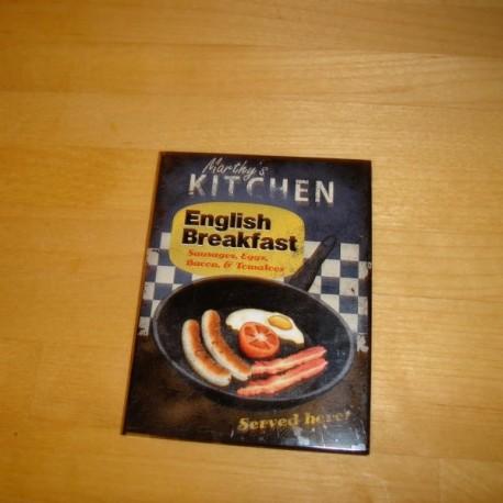 English breakfast, magnet