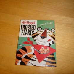 Frosted flakes, magnet
