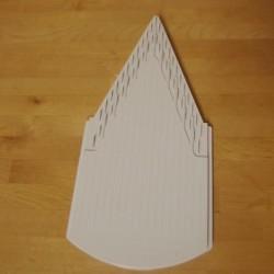 Ekstra indsats til V3 - 1,6 mm, hvid.