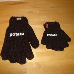 Kartoffelhandsker,  barn / voksen