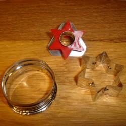 Stjerne udstikker, 3  i 1