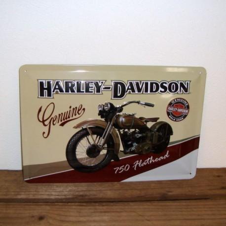 Metal skilt , Harley -Davison