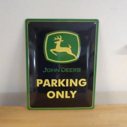Metal skilt, John Deere