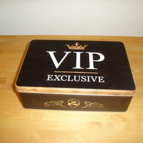 VIP Exclusive - flad dåse