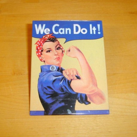 We can do it - magnet