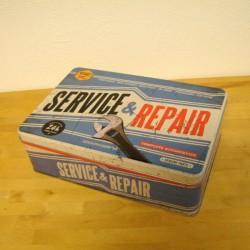 Metal dåse , flad service & reparation