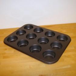 Muffinsform, 12 stk.