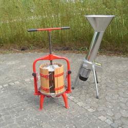 Lej  1 mosteri m/ elektrisk kværn, 1 døgn