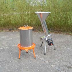Lej  1 mosteri m/ elektrisk kværn og hydropresser, 1 døgn