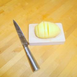 Hasselback kartofel sniitebræt