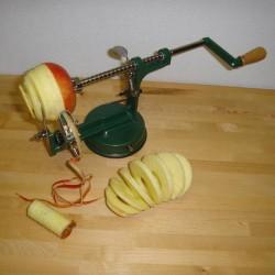 Æbleskrællemaskine