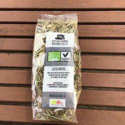 Urtete med kinesisk grøn te...