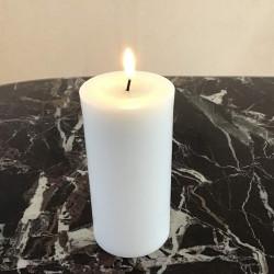 LED bloklys 15 cm, Ø 7,5 cm
