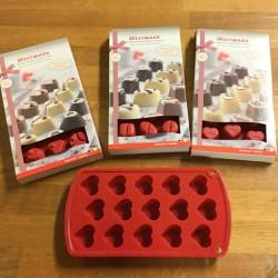 Chokolade silikoneform hjerte