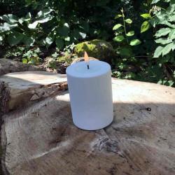 LED bloklys udendørs, hvid...