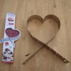 Hjerteform til bagning