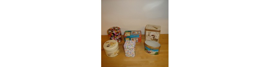 Små metaldåser - køb små dåser til opbevaring i køkkenet