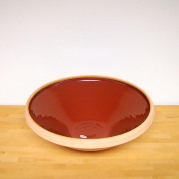 Rødbrun, ensfarvet
