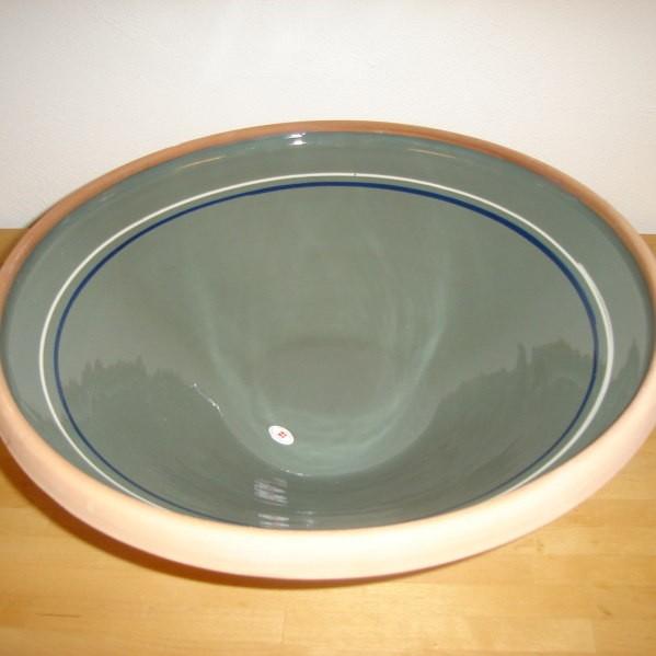 grå med 2 ringe i hvid og blå